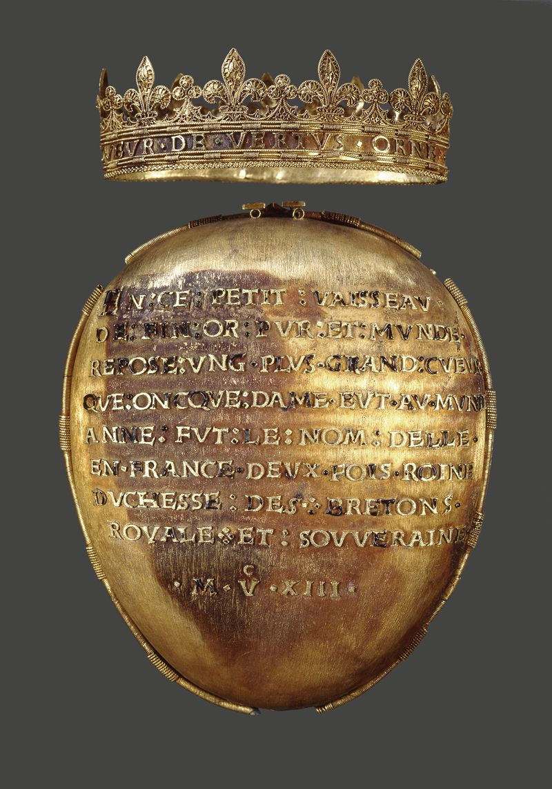 Vessel for the Heart of Anne of Brittany